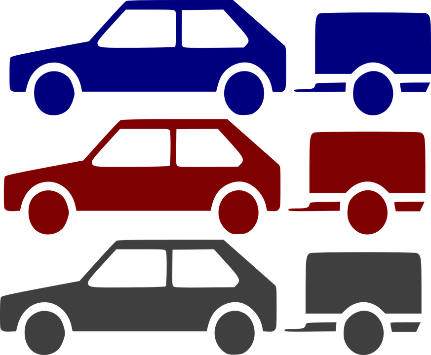 auto s přívěsem
