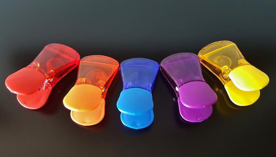 barevné magnetky
