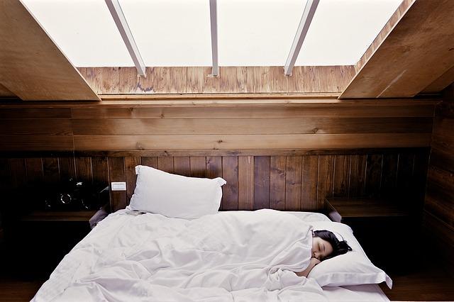 pohodlné spaní i přes den