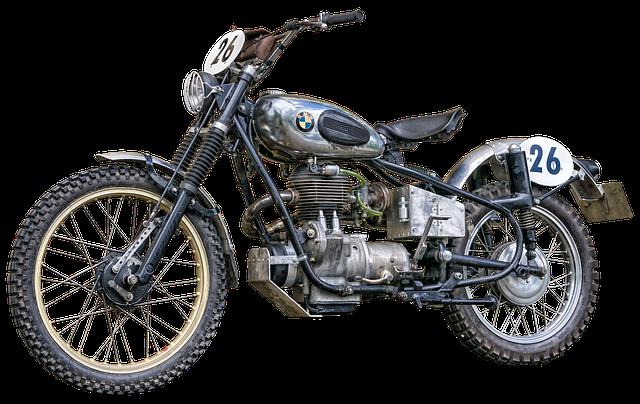 stará bmw motorka