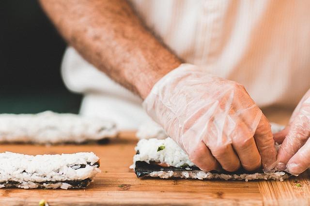 rukavice na vaření