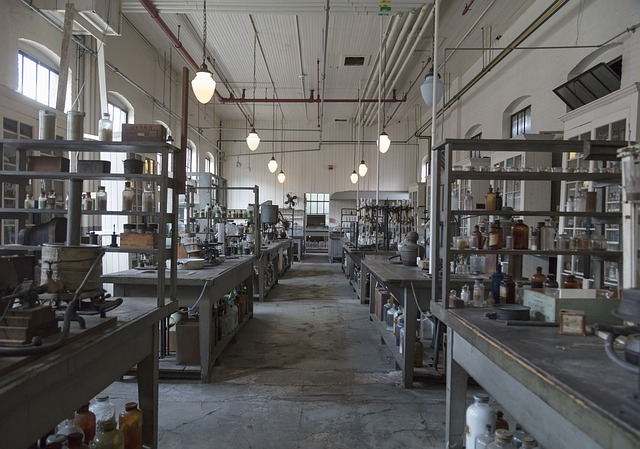 chemická laboratoř