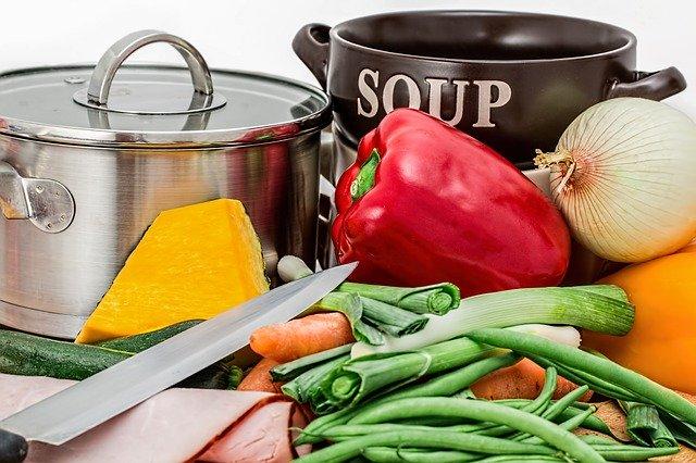 příprava na polévku